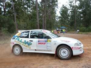 WRC Newry stage
