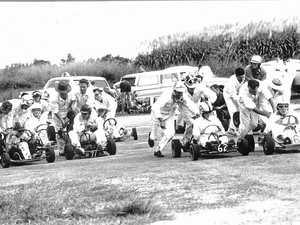 Go-karting in the old days in Mackay