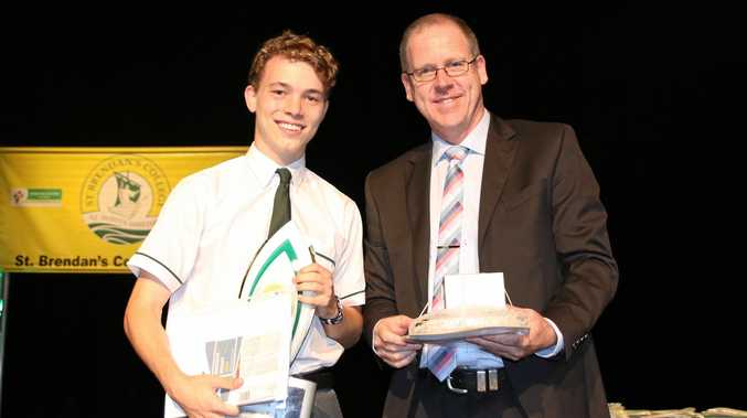 Year 12 College Dux, Flynn Berry.