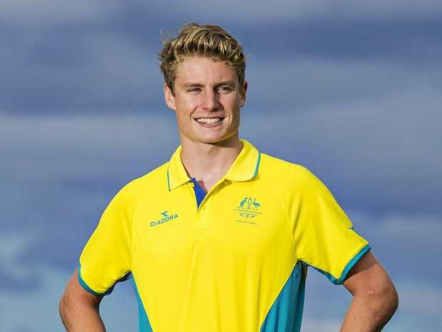 GOING FOR GOLD: Hervey Bay triathlete Matthew Hauser will compete at the 2018 Commonwealth Games.
