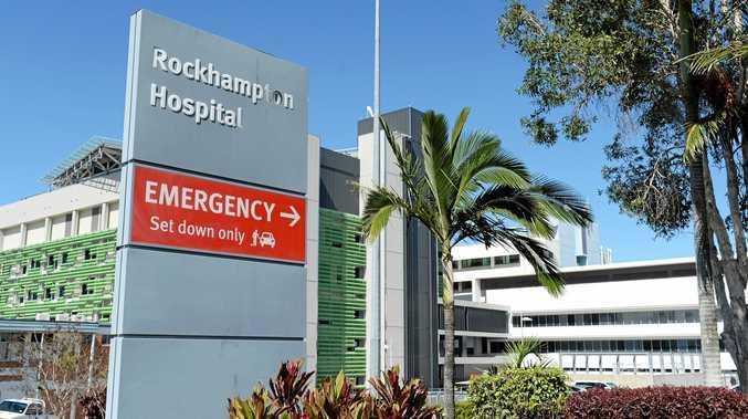 BON VOYAGE: Rockhampton Hospital.