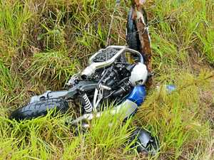 Lucky escape for Gympie rider