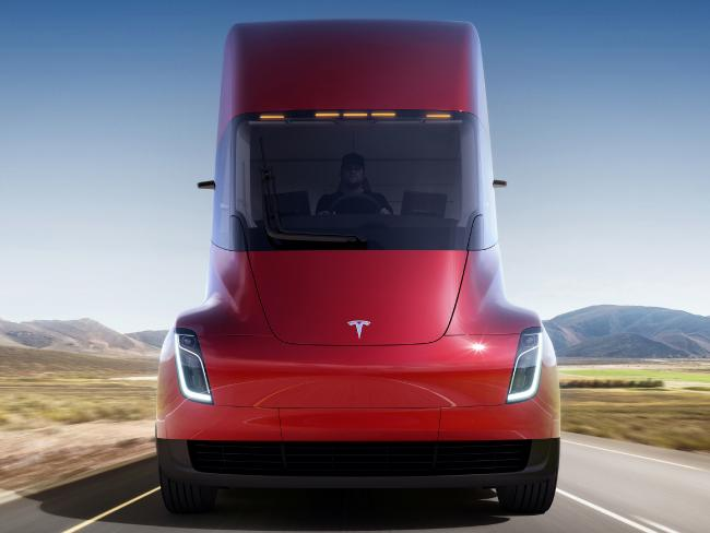 The move fits with Tesla CEO Elon Musk's stated goal for the company of accelerating the shift to sustainable transportation. Picture: Tesla via AP