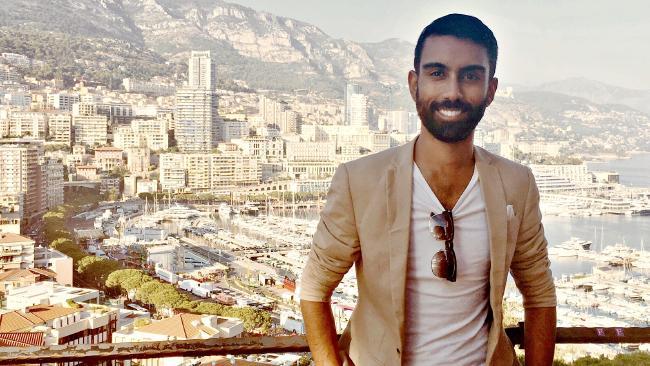 Gavin Fernando spent a week living it up in Monaco