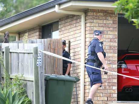 Police found Renee Carter and Corey Croft's bodies inside their home. Picture: Annette Dew