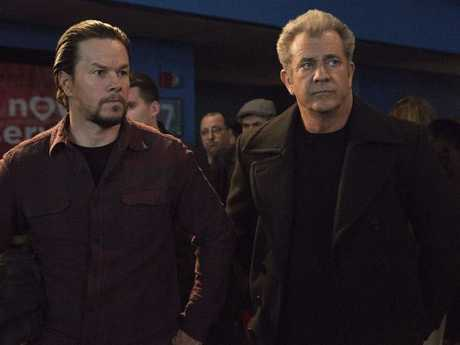 Art imitates life for Mel Gibson's bad-ass father to Mark Wahlberg in Daddy's Home 2.
