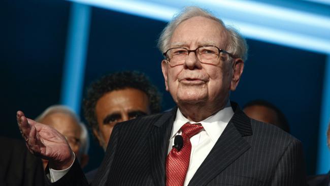 Warren Buffett, chairman and chief executive of Berkshire Hathaway.