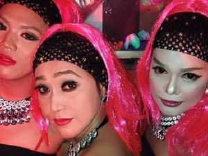 A night at a ladyboy bar in Manila