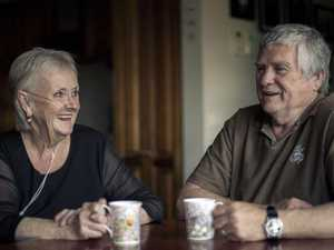 "Carole Smith (pictured here with husband Ray): ""The hardest part has been the social isolation. You lose your friends. They have raised their kids and are off doing their own thing."" (Pic: Jason Edwards)"
