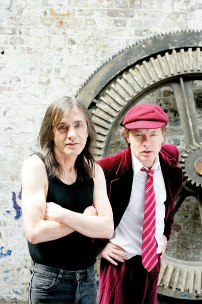 AC/DC Malcolm and Angus Young