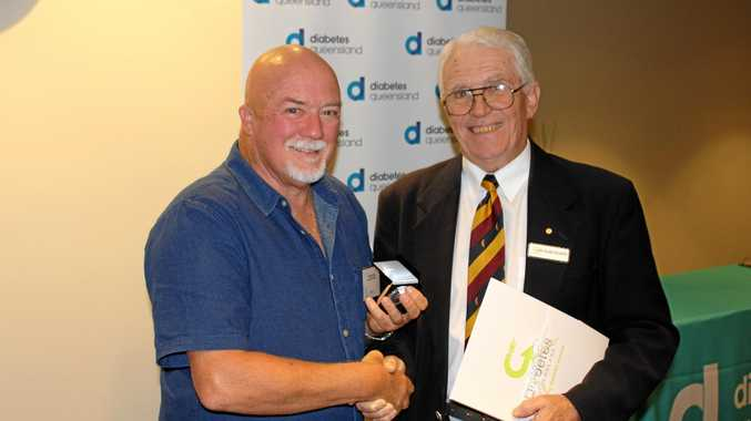 MILESTONE: Wayne Willey received a Kellion Victory medal after he was diagnosed with diabetes 50 years ago.