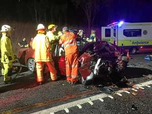 UPDATE: Driver's condition 'serious' after Bruce Hwy head-on