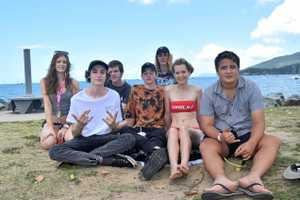 Schoolies Central in Airlie