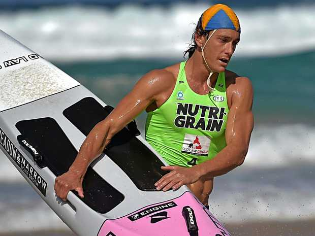 VICTOR: Ali Day proved too strong for the opposition in round two of the Nutri-Grain Ironman Series at Coolum Beach.