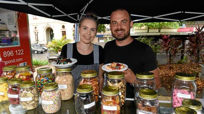 4650 CBD Extravaganza - Courtney Wicks and Cameron Bates from Parkside on Adelaide Cafe and Dessert Bar.