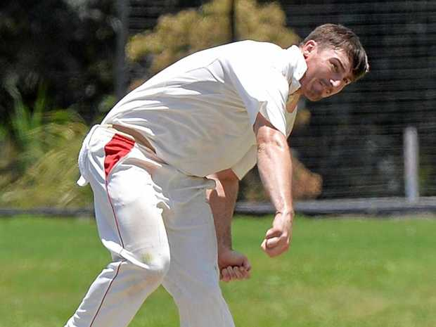 IMPACT: Bowler Blake Maher sends one down in a previous game.