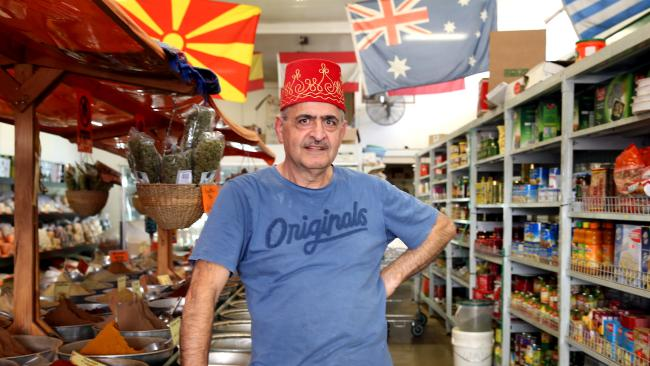No voter and shop owner Ali Ahmad in the NSW electorate of Blaxland, which voted 74 per cent against same-sex marriage. Picture: Jane Dempster/The Australian