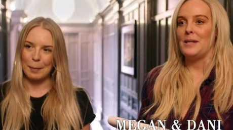 Tamara Ecclestone's personal assistants Megan and Dani.. Picture: ITV