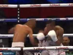 Fastest KO in title fight history