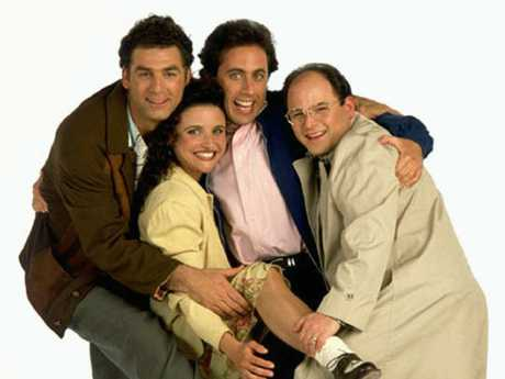Seinfeld, groundbreaking (and sometimes very rude) TV.