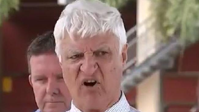 "Bob Katter made wild accusations that gay people were ""responsible for giving AIDS"" to society through donating blood, in a speech in Parliament."