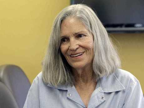 Former Charles Manson follower Leslie Van Houten during a parole hearing earlier this year. AP Photo/Nick Ut