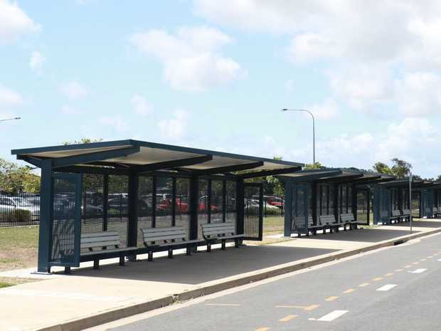 New bus stops have been built in our region.