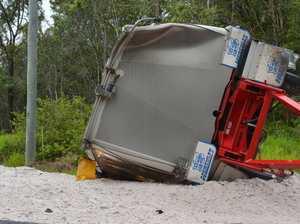 Coonarr truck crash