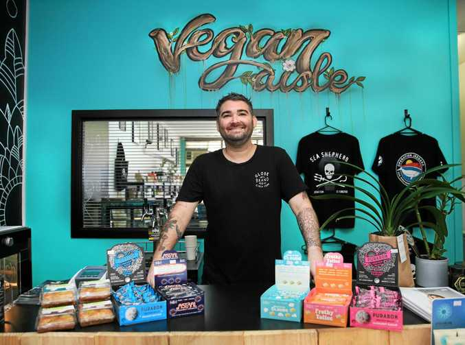 Brett Page from Vegan Aisle in Tweed Heads
