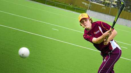 HOT SHOT: Ryley Bobart (Gladstone) has made selection for the 2017/18 U13 Queensland Indoor Boys Shots team.