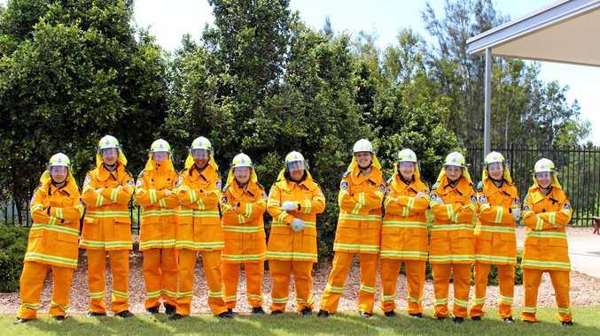 NSW RFS secondary school cadet program.