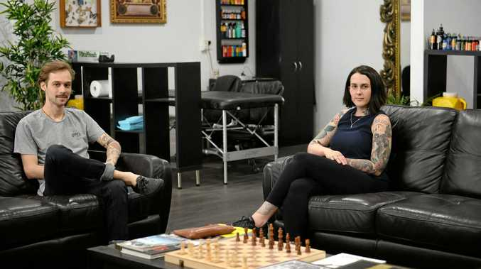 Evan Treacy and Haylee Cotter will be opening a combined hairdresser and tattoo studio combining the talents of Thieves and Beggars with The Arrows End Tattoo.