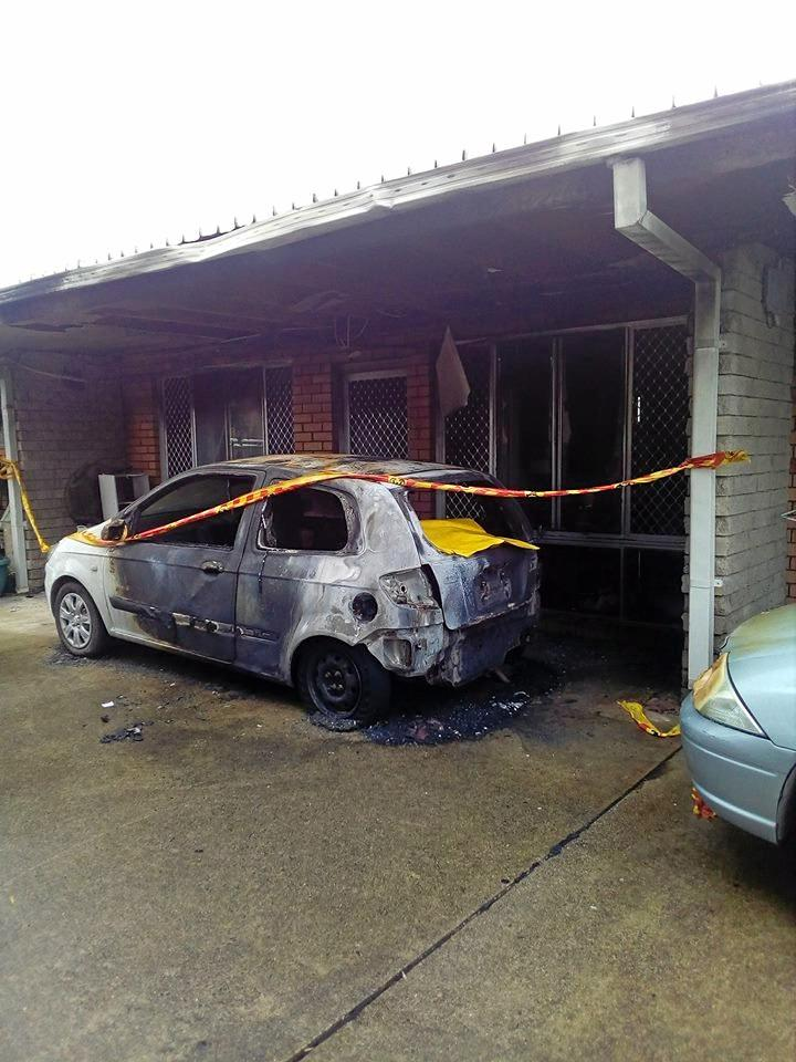 A 3-month old baby and a 90-year-old man were transported to hospital following a house fire in Coffs Harbour.