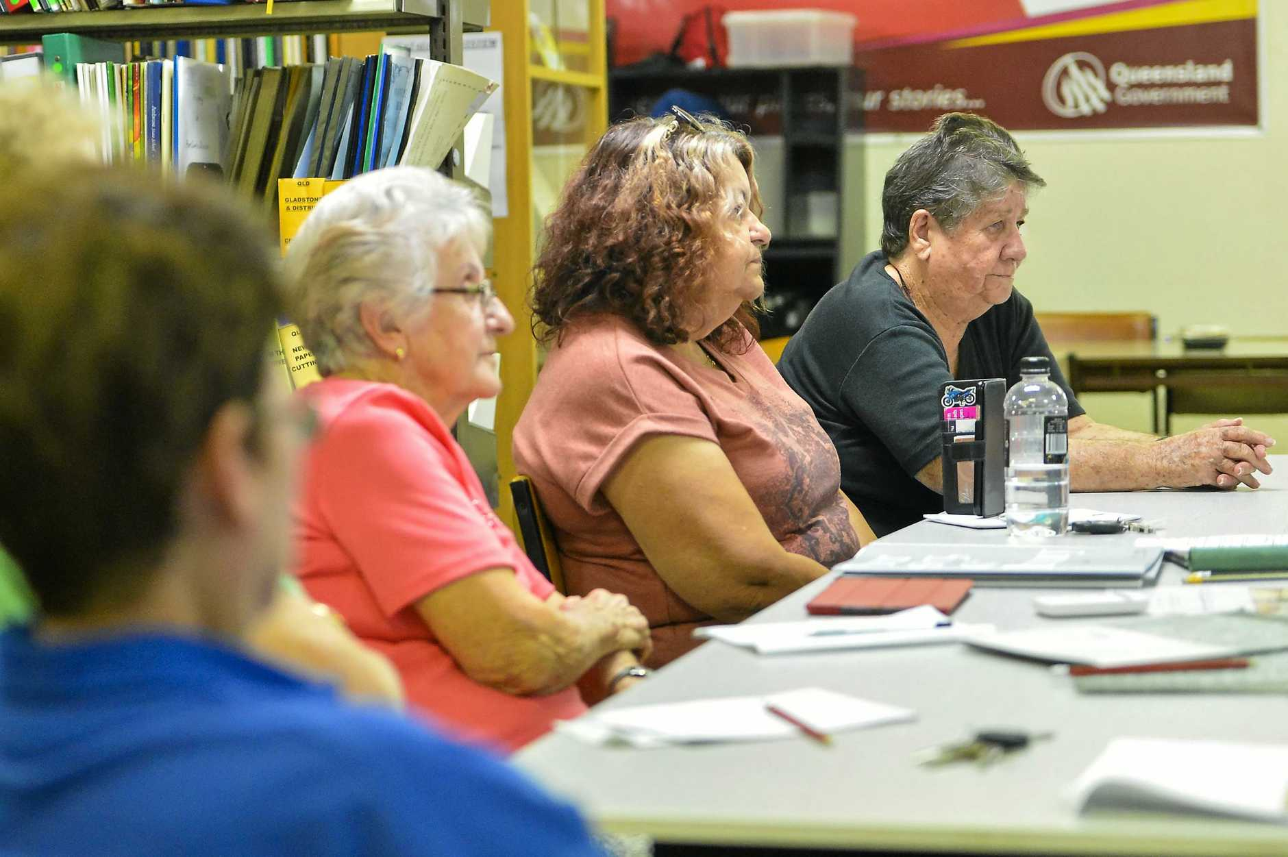 Attendees at the Gladstone Genealogical Society's historical military workshop.