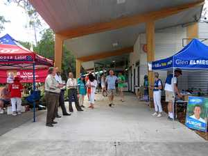 TAFE pre-polling location works well
