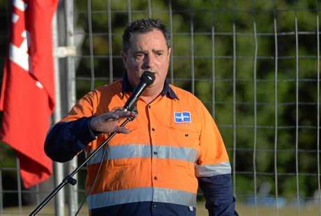 CUTS CONCERN: Rockhampton's Queensland Council of Union Secretary Craig Allen fears for CQ's future job security.