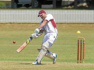 AT RIGHT: Cudgen wicket keeper-batsman Doug Potter is leaving the team for a new job at Dubbo.