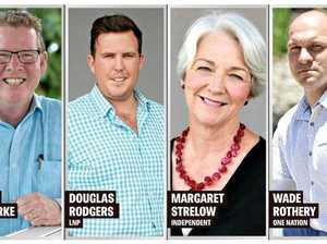Rockhampton candidates debate set to ignite passions at CQU