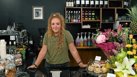 ARROW BEAN: Hannah Aylward inside her new premises in Targo Street.