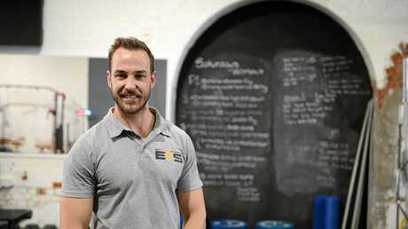 Shaun Arnold has opened a new gym in Denison St.