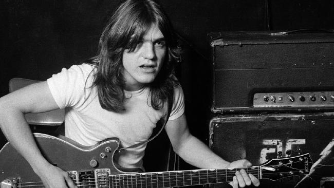 AC/DC founding member Malcolm Young died aged 64. Malcolm had been suffering from dementia for some time. Picture: Supplied