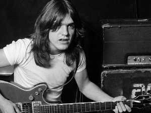 Rock star tributes for Malcolm Young