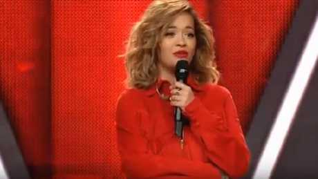 Rita Ora's blind audition on The Voice Germany backfires