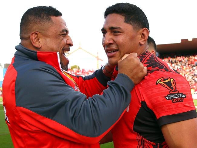 Taumalolo is loving playing for Tonga.