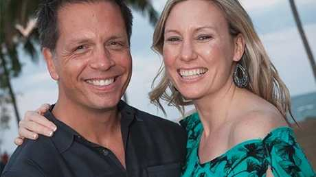 Don Damond and Justine Damond Ruszczyk on holiday in Hawaii. Picture: Supplied