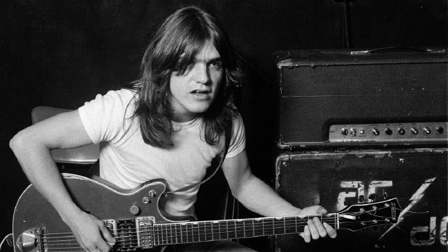 ACDC founding member Malcolm Young who died last night aged 64. Malcolm had been suffering from dementia for some time. Supplied