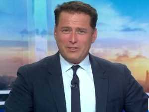 Karl Stefanovic jokes about splitting wife