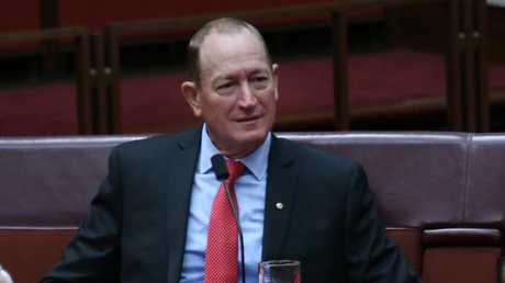 Senator Fraser Anning replaced Malcolm Roberts as One Nation senator for Queensland and then immediately became an independent. Picture Gary Ramage