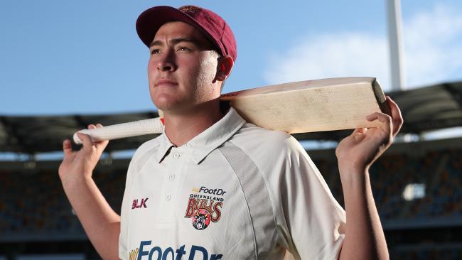 Dumped Test opener, Queensland star Matt Renshaw. Picture: Peter Wallis