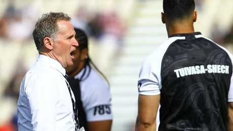 Technical adviser Brian Smith had a role to play in the Kiwis' RLWC campaign.